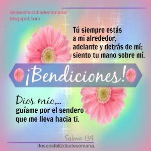 bendiciones oracion Dios imagen cristiana
